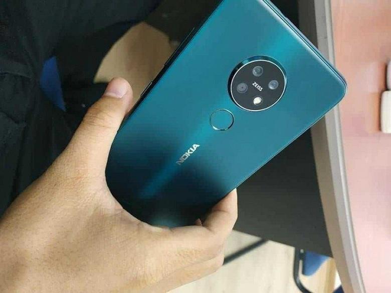 Живые фотографии и цена смартфона Nokia 7.2