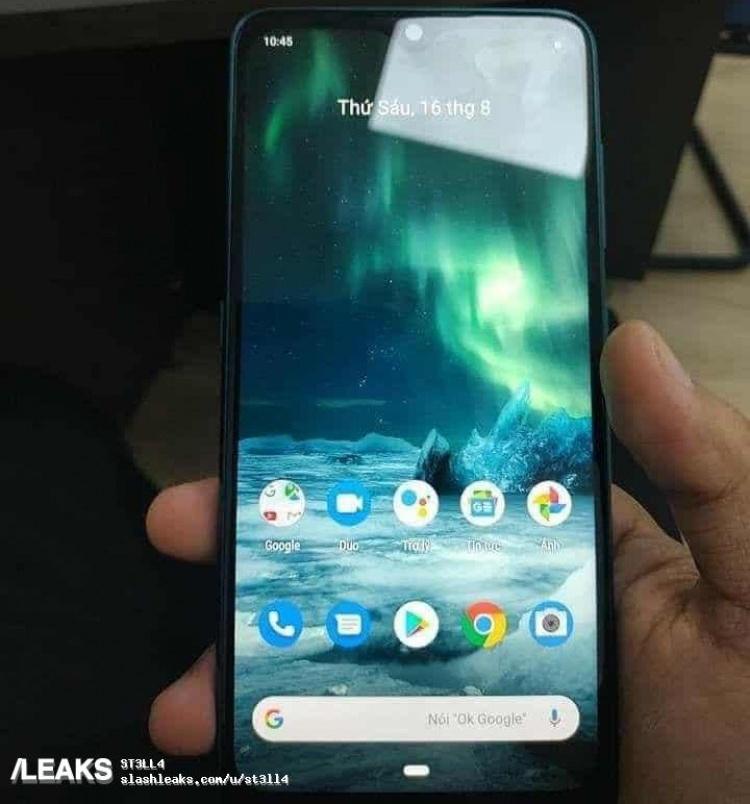 Смартфон Nokia 7.2 позирует на «живых» фотографиях