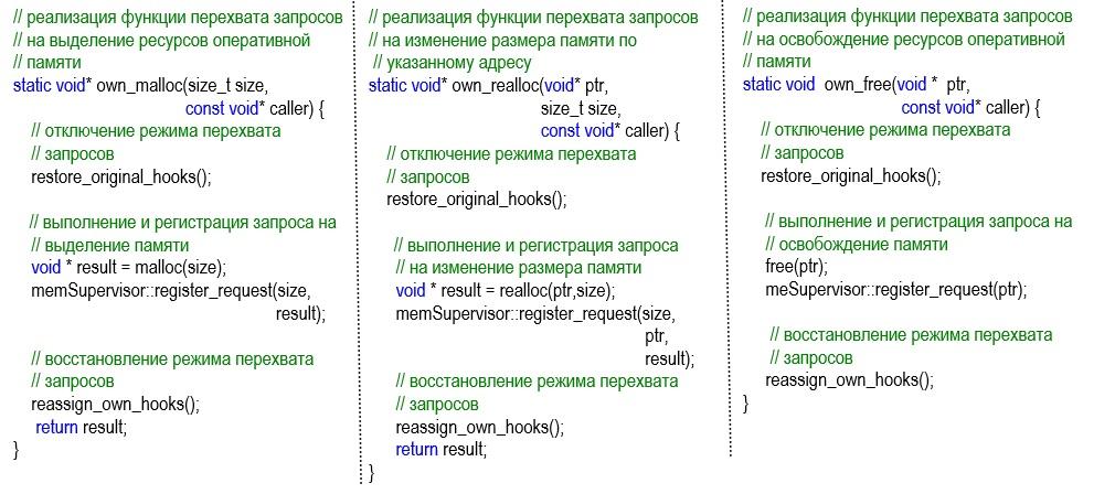Встроенные средства контроля ресурсов используемой оперативной памяти в приложении - 4