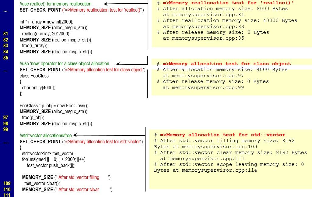 Встроенные средства контроля ресурсов используемой оперативной памяти в приложении - 8