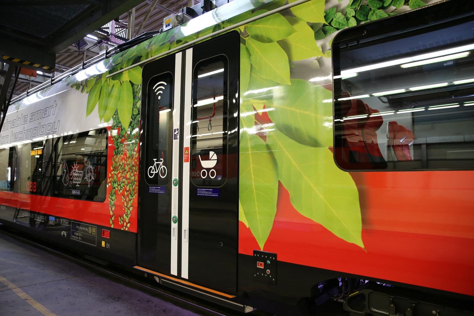В Австрии запускают поезд на аккумуляторах - 2