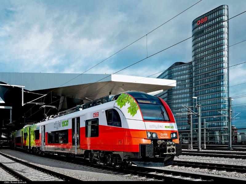 В Австрии запускают поезд на аккумуляторах - 1