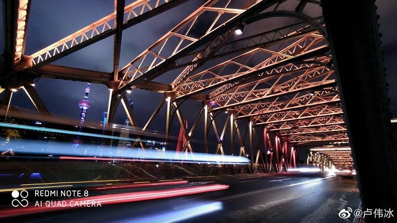 Впечаляющие ночные фотографии, сделанные на камеру Redmi Note 8