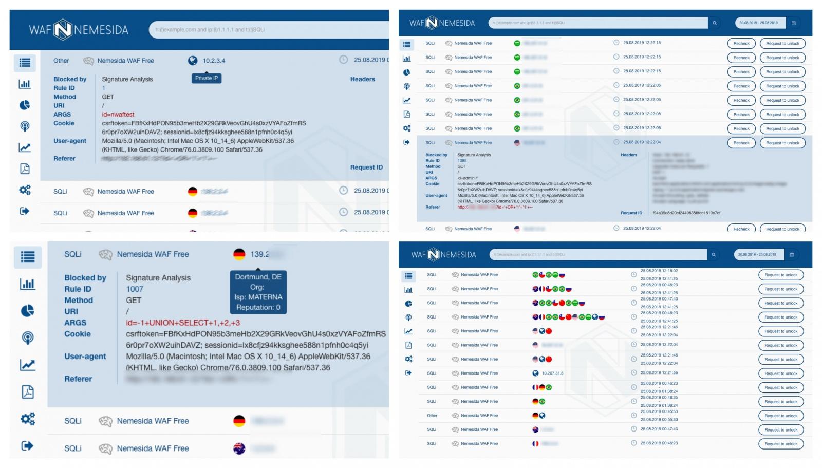 Комфортный DevOpsSec: Nemesida WAF Free для NGINX с API и личным кабинетом - 1