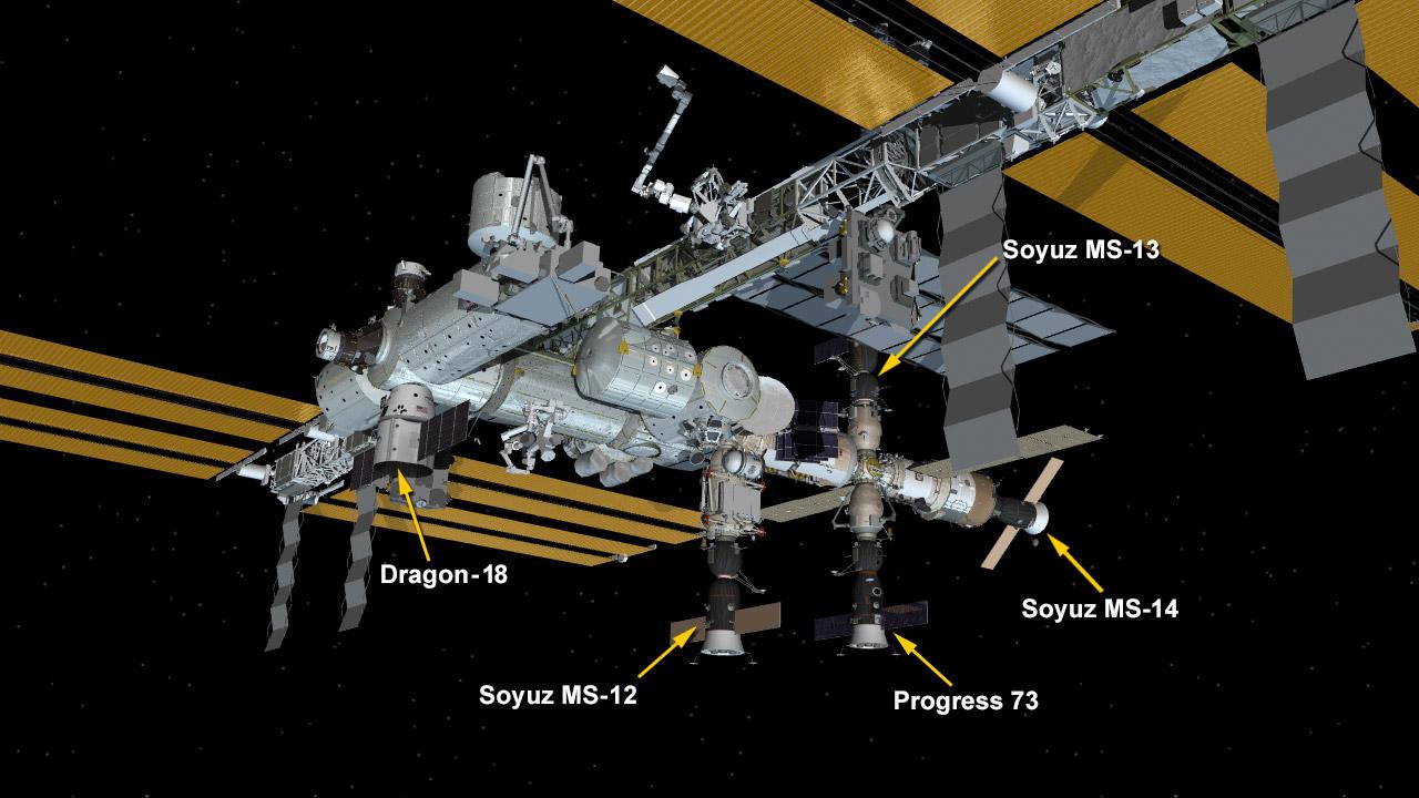 Корабль «Союз МС-14» с роботом FEDOR успешно пристыковался к МКС со второй попытки - 2