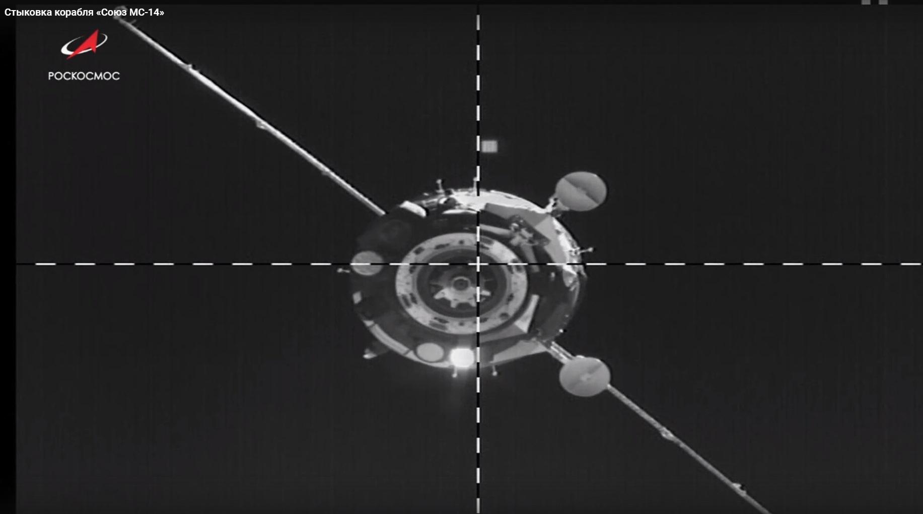 Корабль «Союз МС-14» с роботом FEDOR успешно пристыковался к МКС со второй попытки - 6