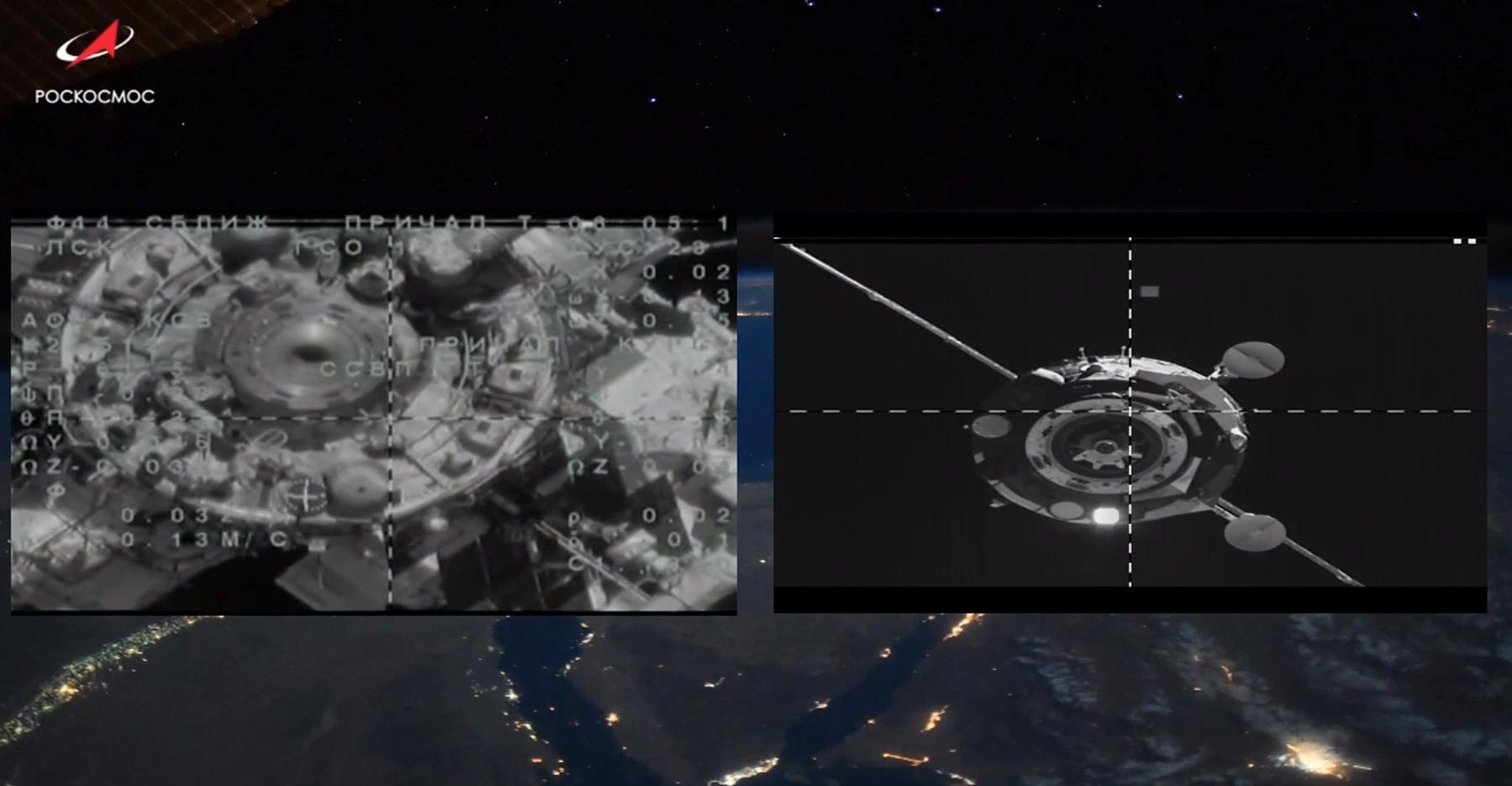 Корабль «Союз МС-14» с роботом FEDOR успешно пристыковался к МКС со второй попытки - 7