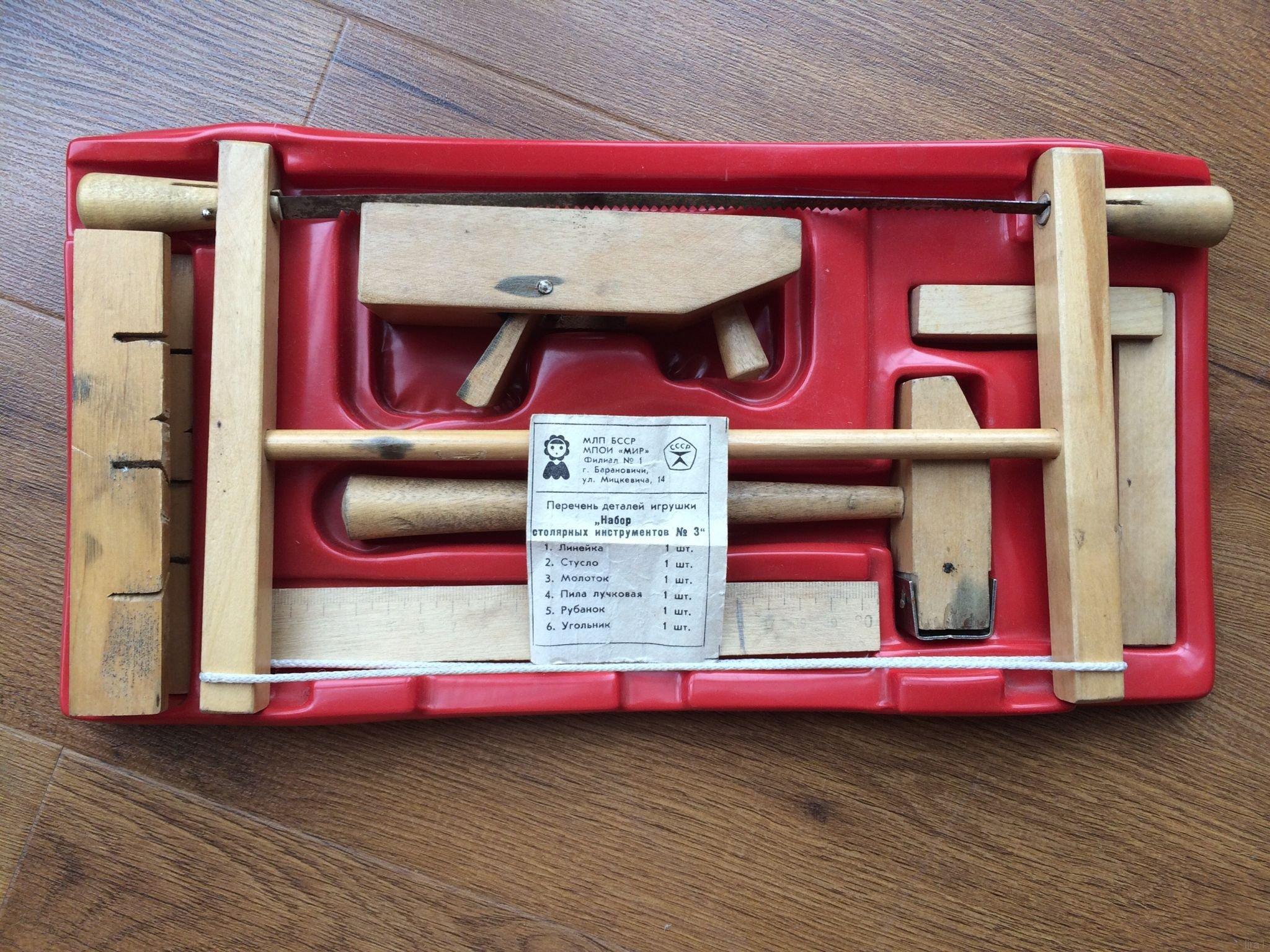 Уроки труда на дому: наборы детских инструментов от Pebaro - 3