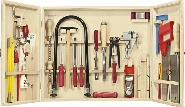 Уроки труда на дому: наборы детских инструментов от Pebaro - 9
