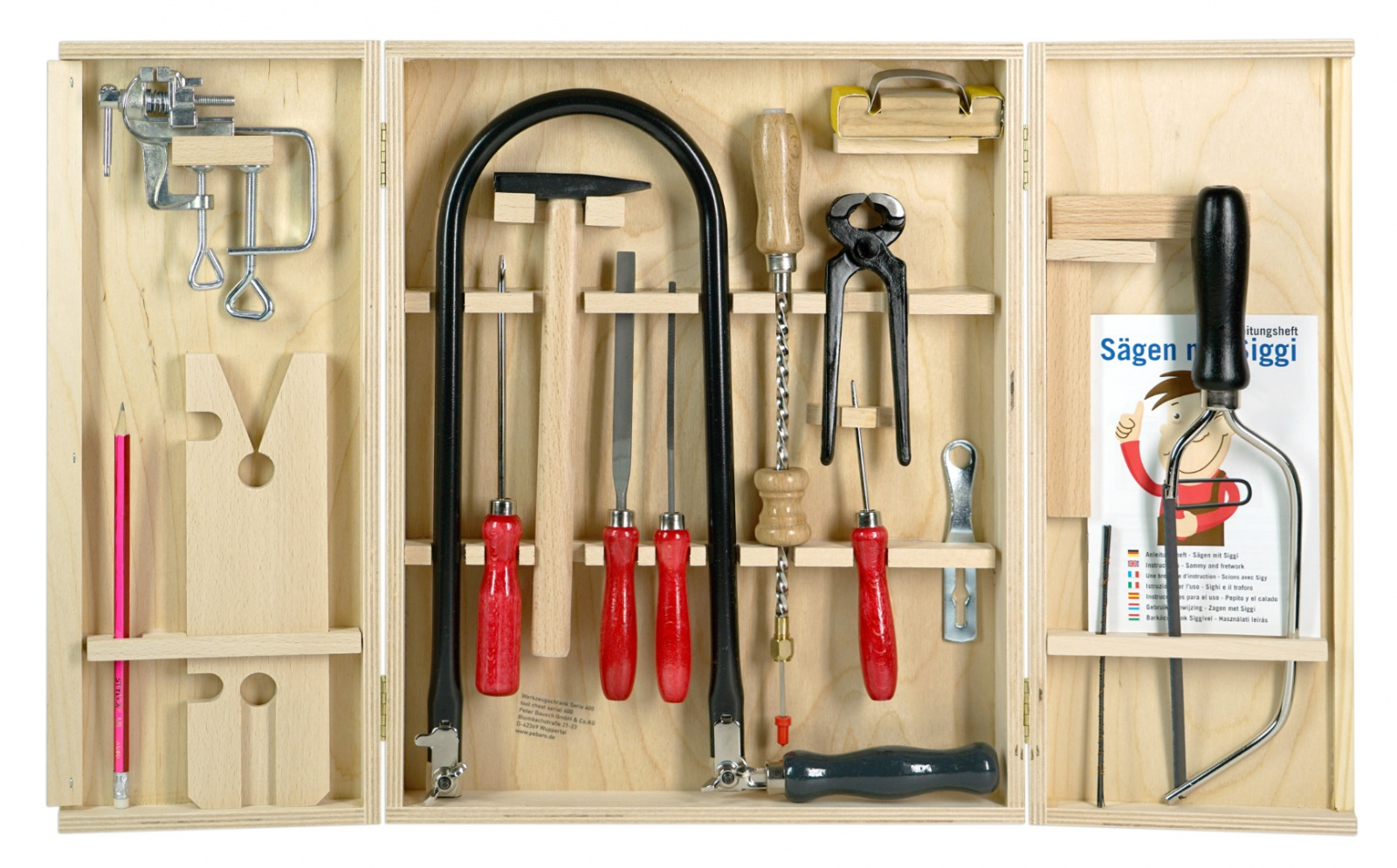 Уроки труда на дому: наборы детских инструментов от Pebaro - 1
