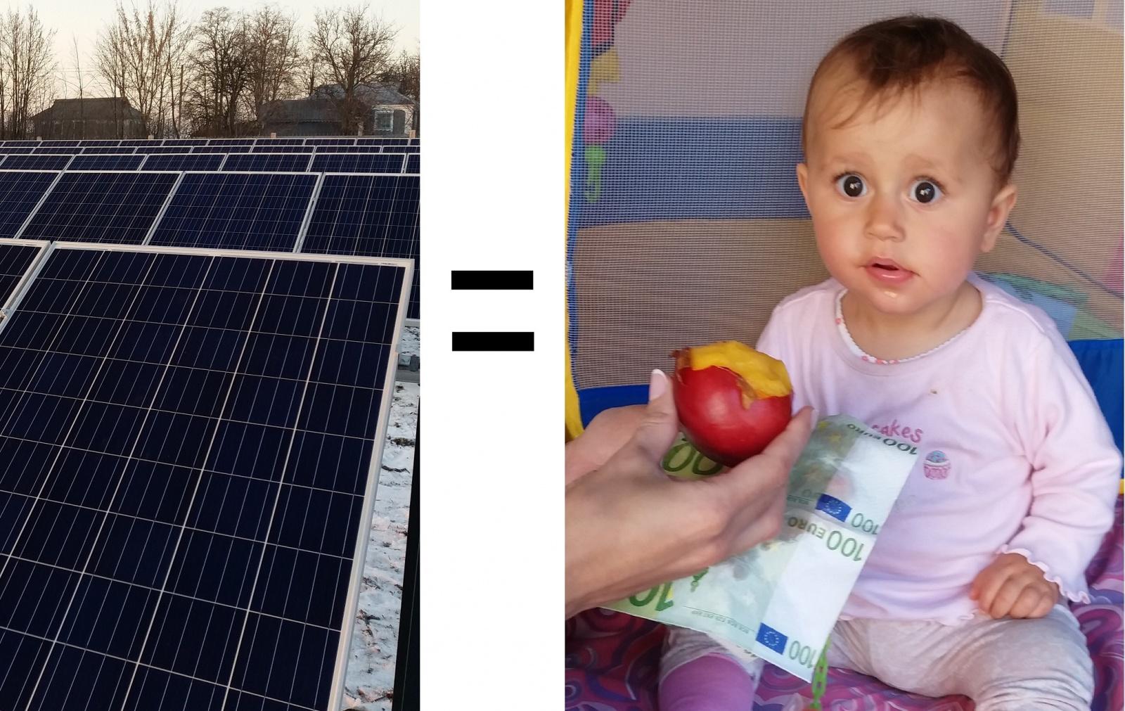 Зарабатываем на солнечной энергии или пассивный доход в 25% годовых, практический опыт - 1