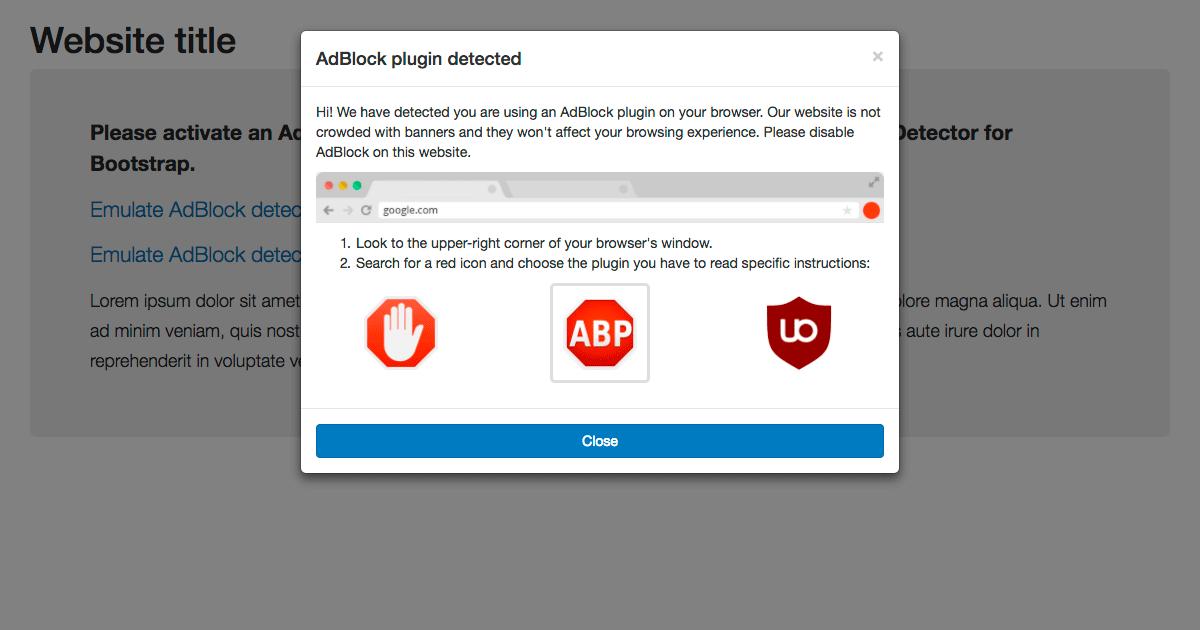 Как вручную заблокировать блокировку блокировщиков рекламы - 1