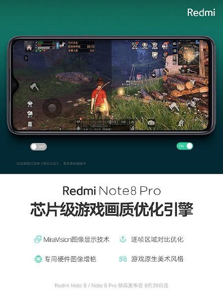 Оптимизация на аппаратном уровне. Игры на Redmi Note 8 Pro будут выглядеть максимально хорошо