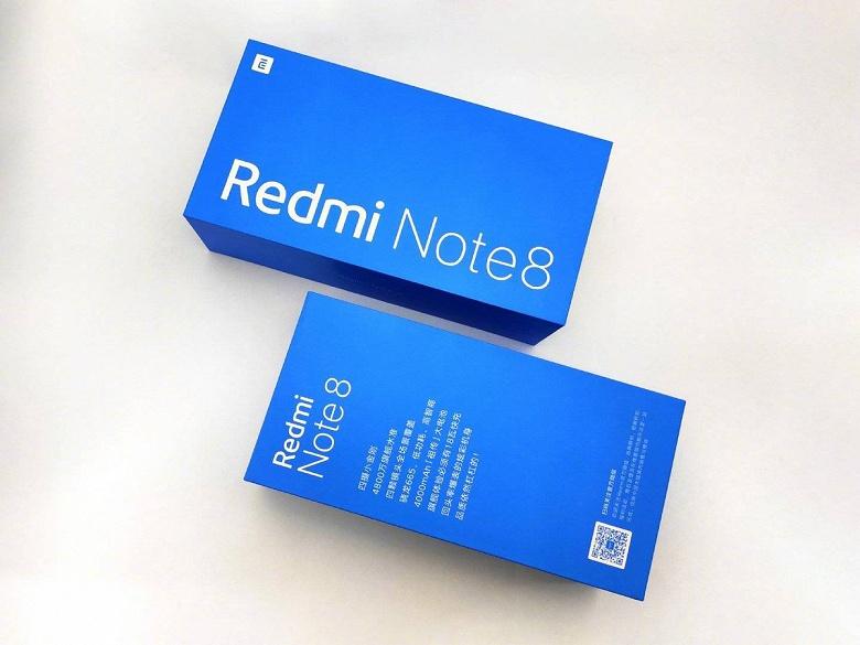 Redmi Note 8 получил аккумулятор на 4000 мА•ч. Первое фото упаковки