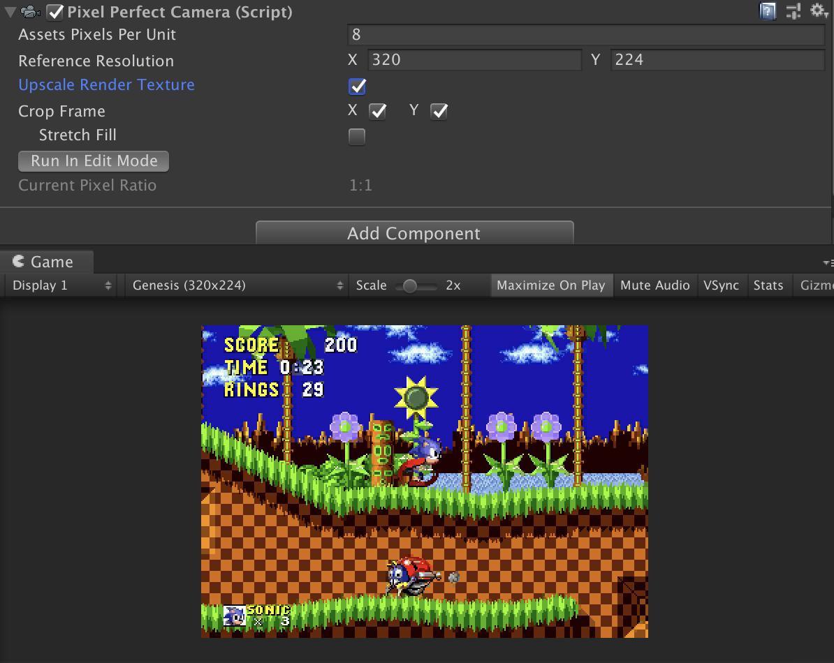 Ограничения 16-битных игр и их воссоздание в Unity - 25