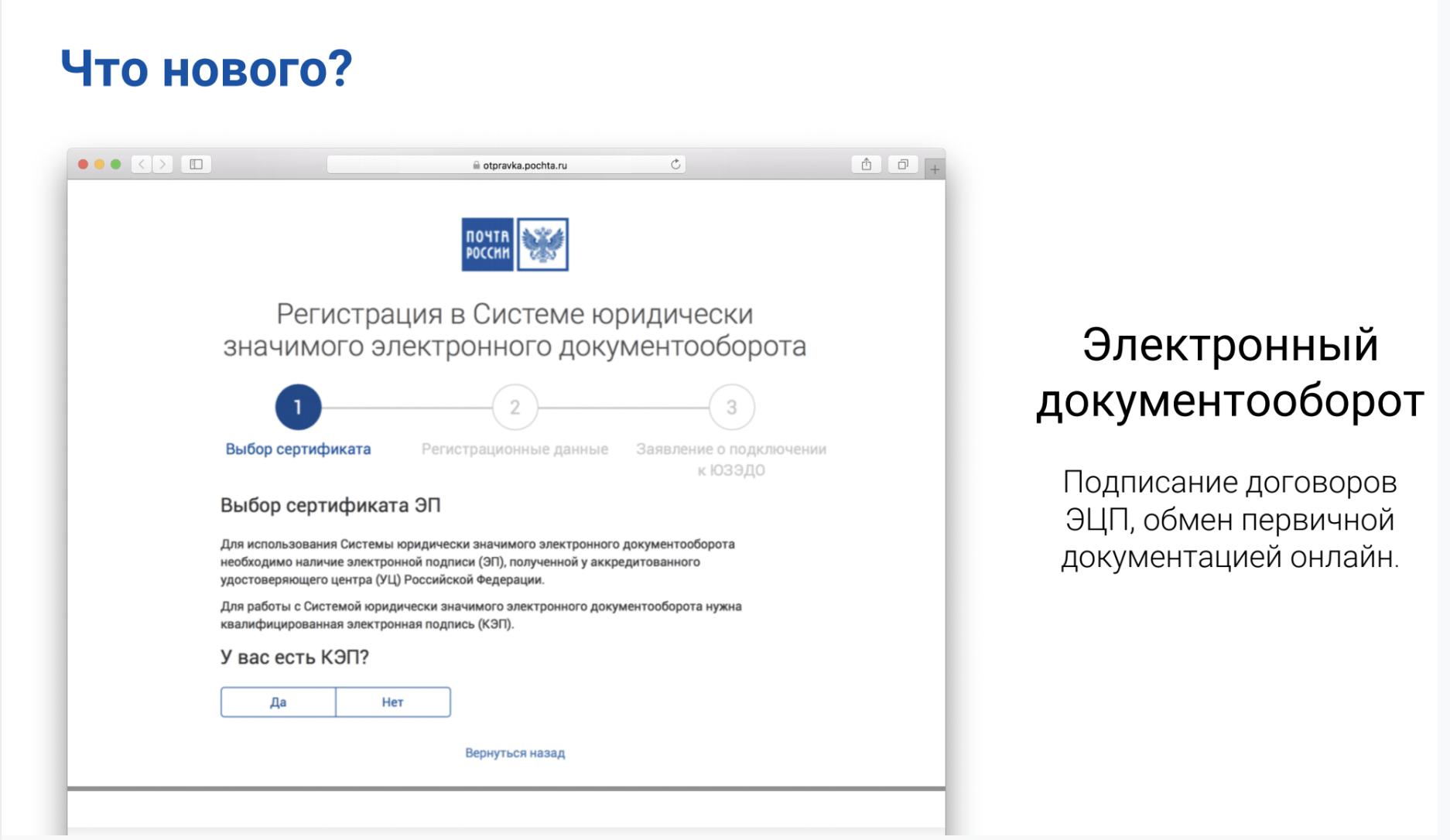 Почтовые Технологии — как мы цифровизируем Почту России - 10