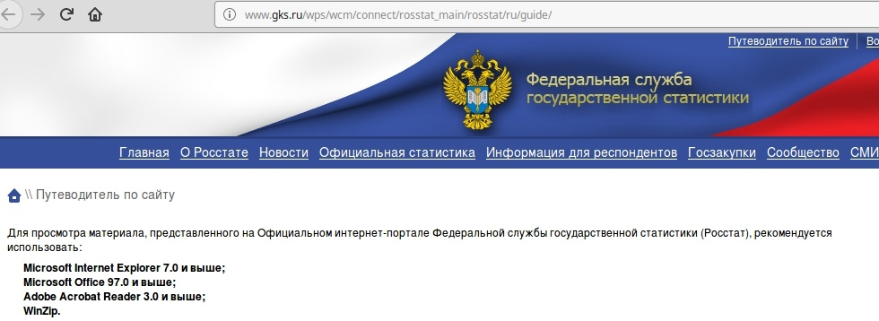 Счетная палата РФ при аудите не нашла обновления сайта и мобильные приложения для Росстата за десятки миллионов рублей - 1