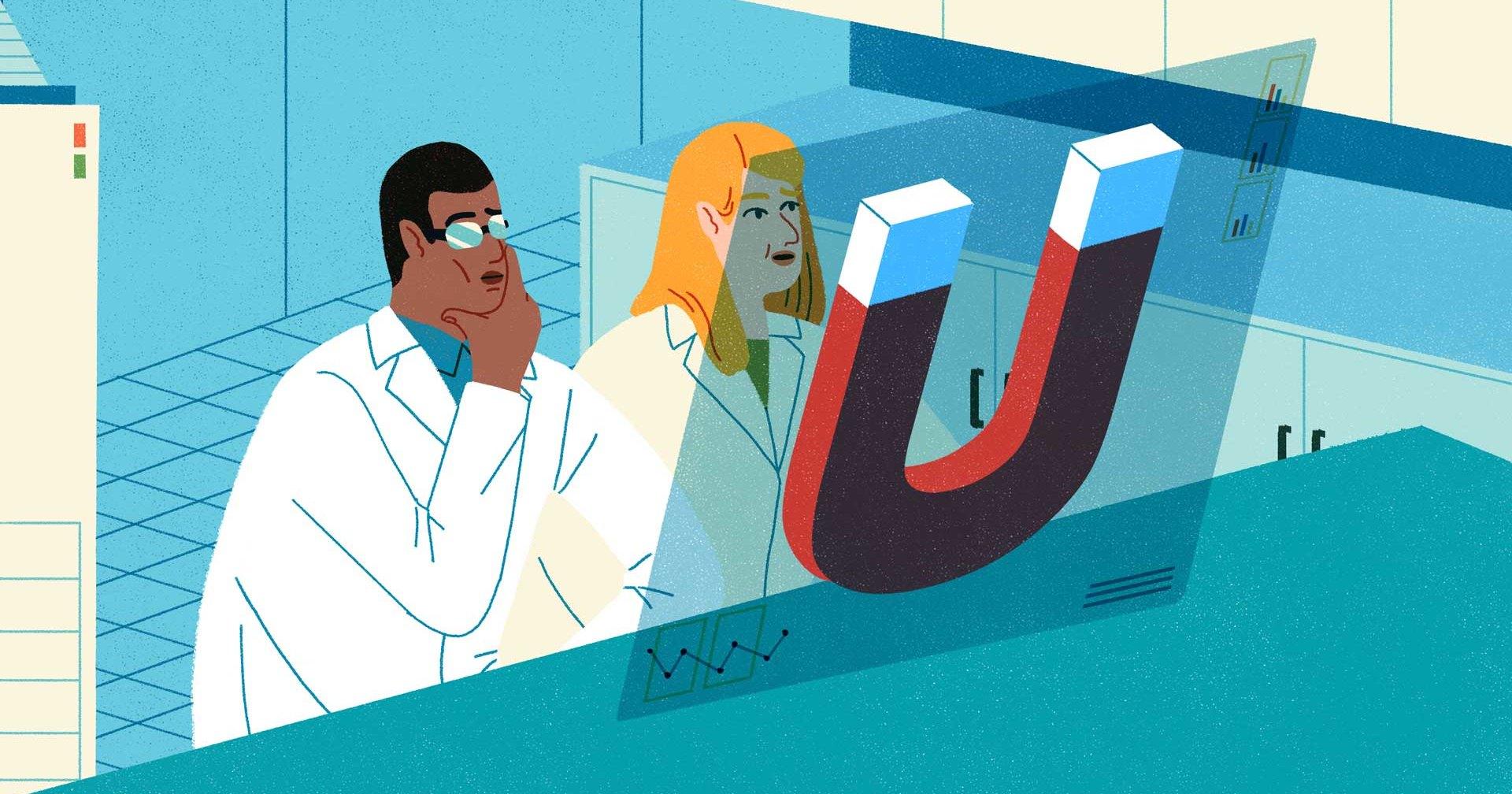 27 мозговзрывающих экспериментов с магнитами
