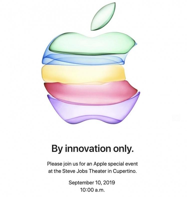 Apple приглашает на мероприятие 10 сентября: ждём новые iPhone