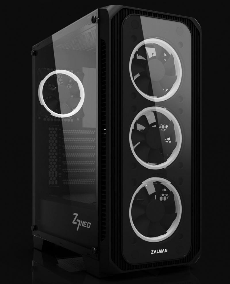 Новая статья: Обзор и тест корпуса Zalman Z7 Neo: шасси, lighting, два стекла
