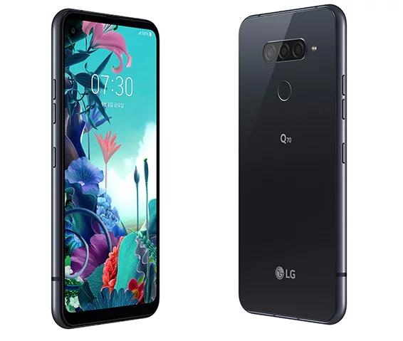 Представлен смартфон LG Q70