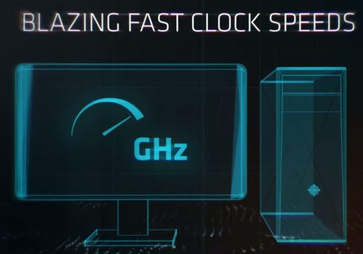 AMD бросила мечтать о 5 ГГц, чем очень развеселила Intel