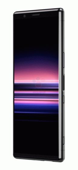 Фотогалерея дня: компактный флагманский смартфон Sony Xperia 2 позирует на официальных рендерах