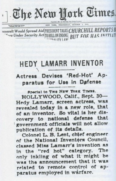 Хеди Ламарр: изобретательница из Голливуда - 10