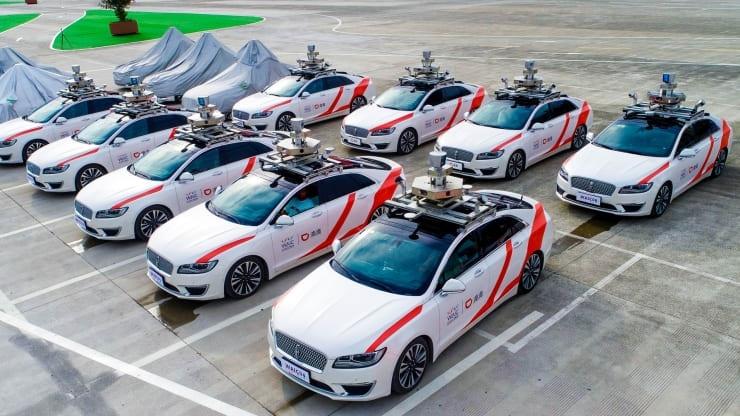 Китайский конкурент Uber запустит сервис роботакси в Шанхае