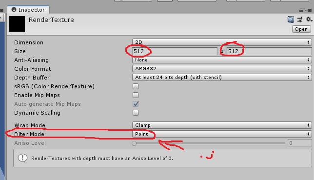 Пиксельный Lo-fi в Unity - 5