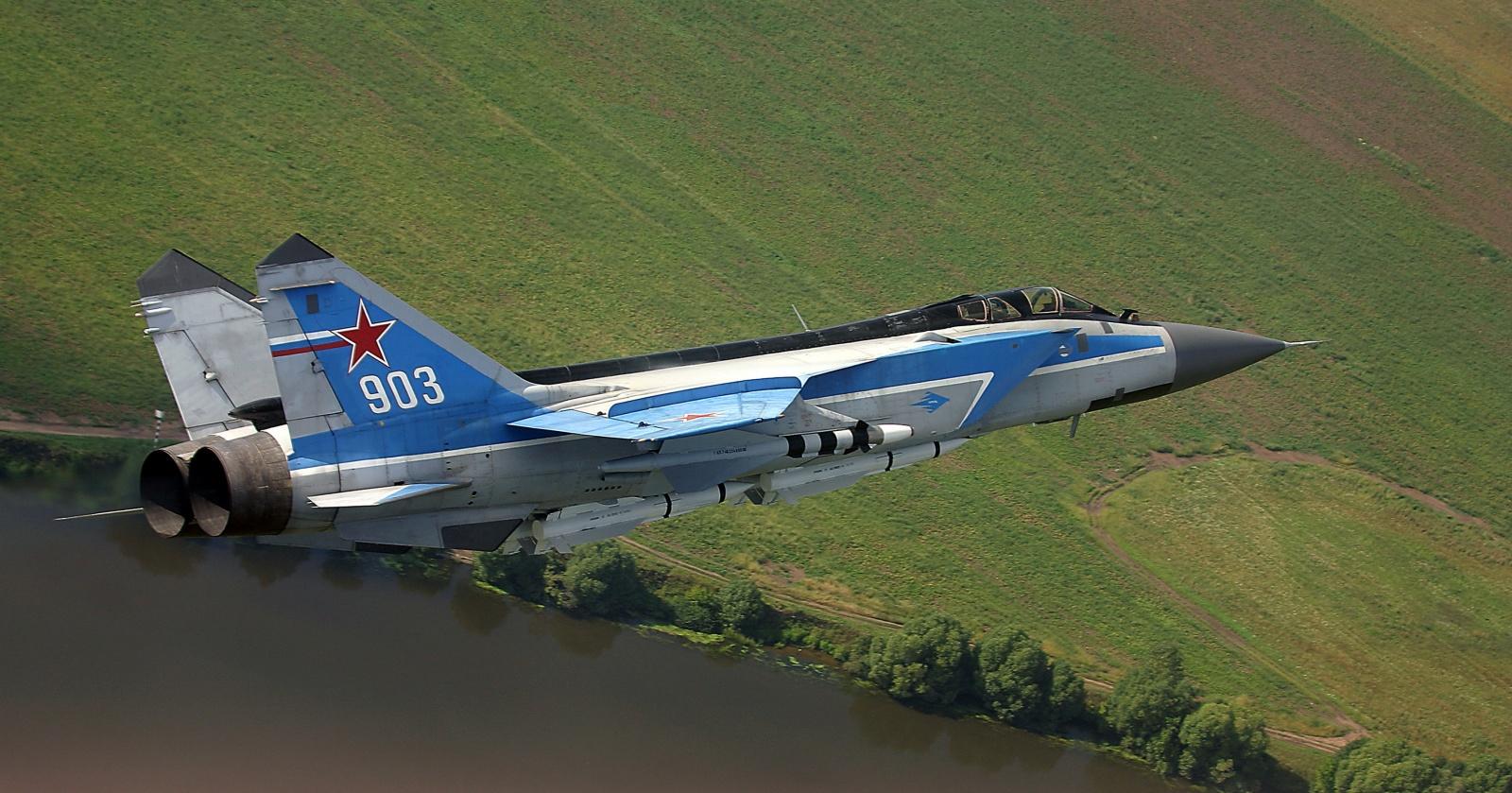 Преемник МиГ-31 может появиться в 2030 году