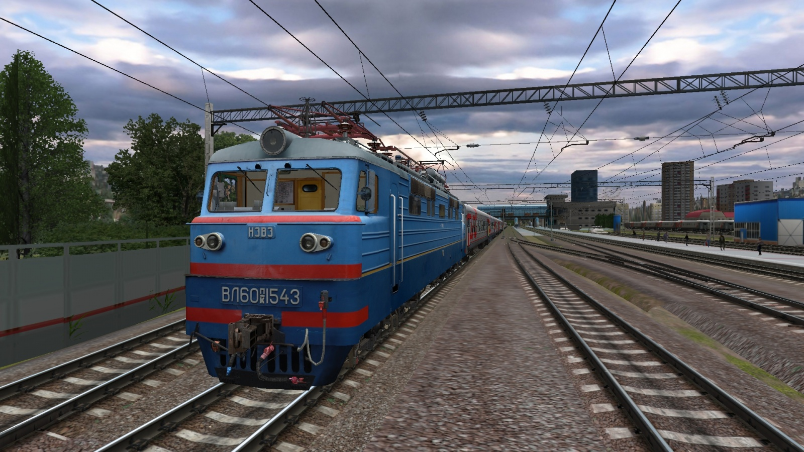 Russian Railway Simulator (RRS): первый публичный релиз - 1