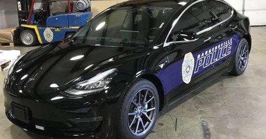 Tesla станут полицейскими