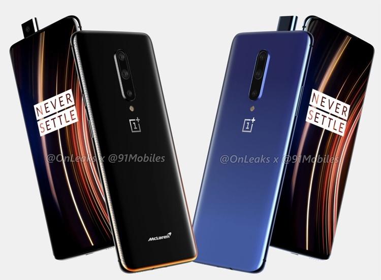 Флагманский смартфон OnePlus 7T Pro красуется на рендерах