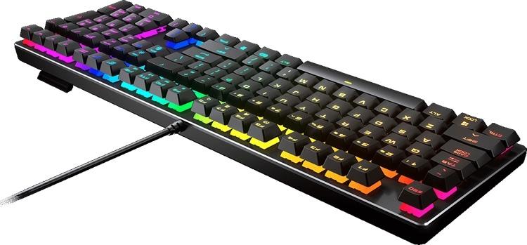 Игровая клавиатура Cougar Vantar MX: механические переключатели и RGB-подсветка