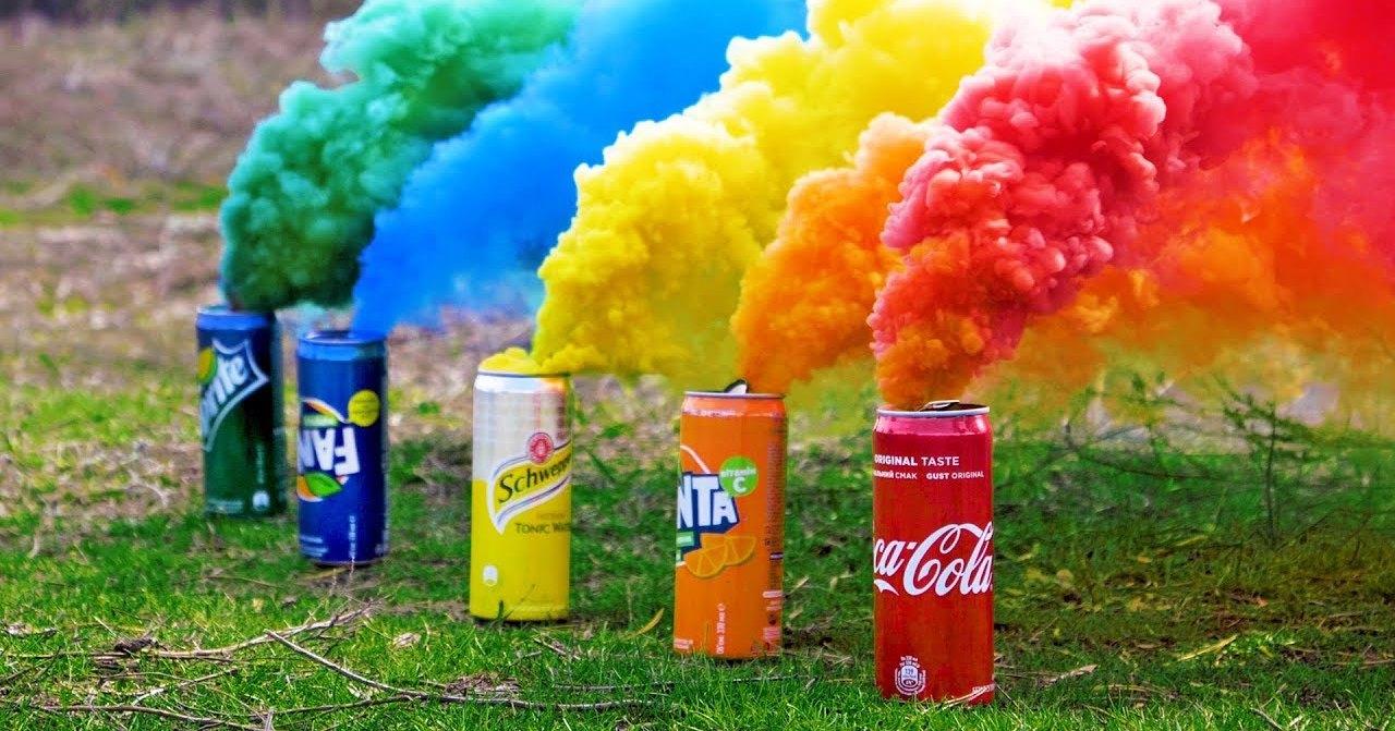 Как сделать разноцветные дымовые шашки своими руками