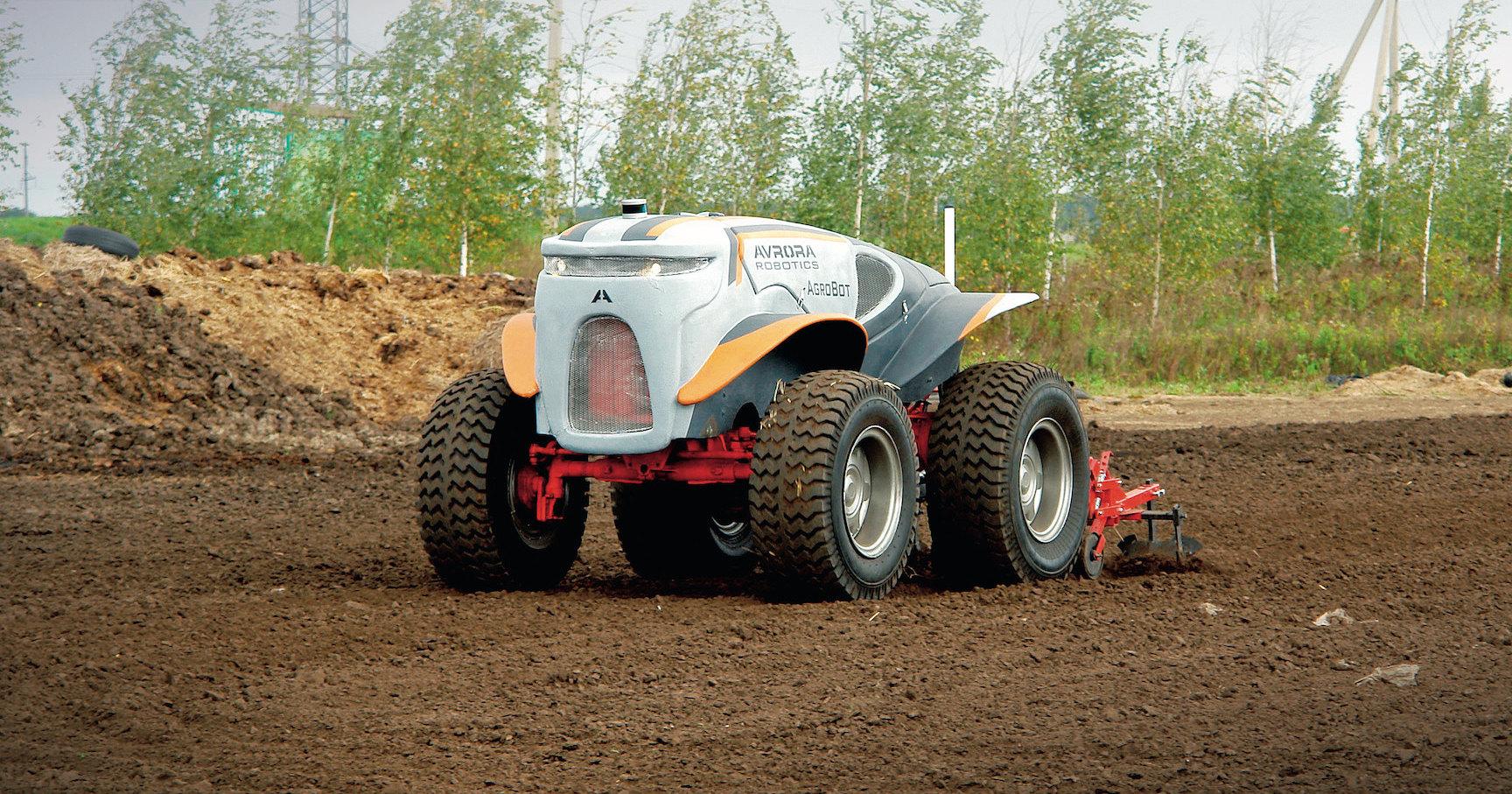 Трактор без тракториста: индустрия будущего