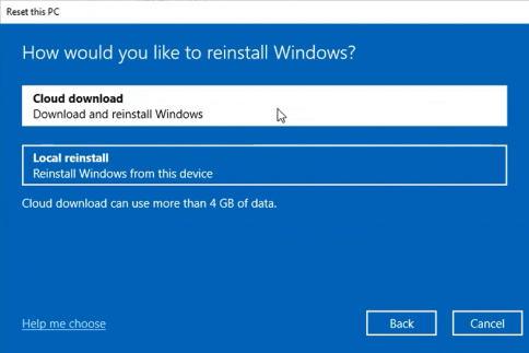 В сборке Windows 10 Insider Preview Build 18970 операционную систему можно переустановить из облака - 2