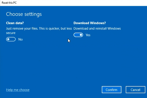 В сборке Windows 10 Insider Preview Build 18970 операционную систему можно переустановить из облака - 5
