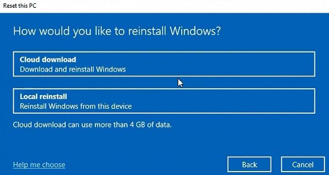 В сборке Windows 10 Insider Preview Build 18970 операционную систему можно переустановить из облака - 1