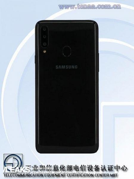 Samsung Galaxy A20s получил экран диагональю 6,49 дюйма и аккумулятор емкостью 4000 мА•ч.