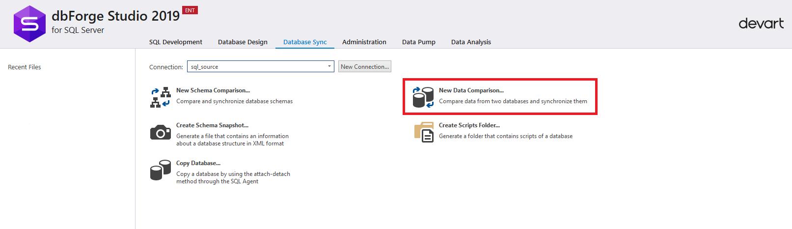 Сравнение компараторов для синхронизации схем и данных баз данных MS SQL Server - 24