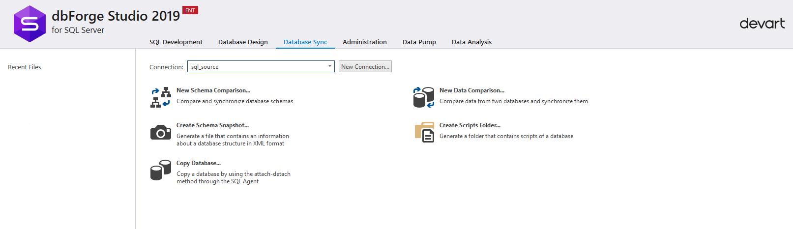 Сравнение компараторов для синхронизации схем и данных баз данных MS SQL Server - 4