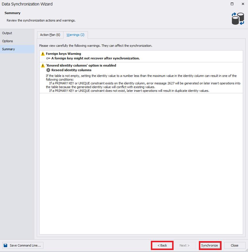 Сравнение компараторов для синхронизации схем и данных баз данных MS SQL Server - 42