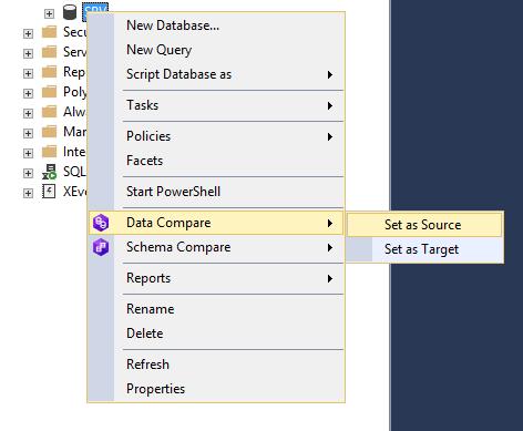 Сравнение компараторов для синхронизации схем и данных баз данных MS SQL Server - 45