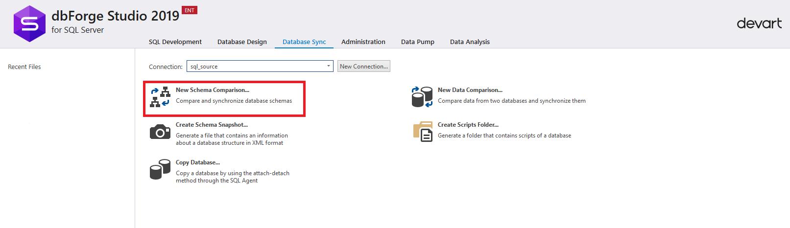 Сравнение компараторов для синхронизации схем и данных баз данных MS SQL Server - 5