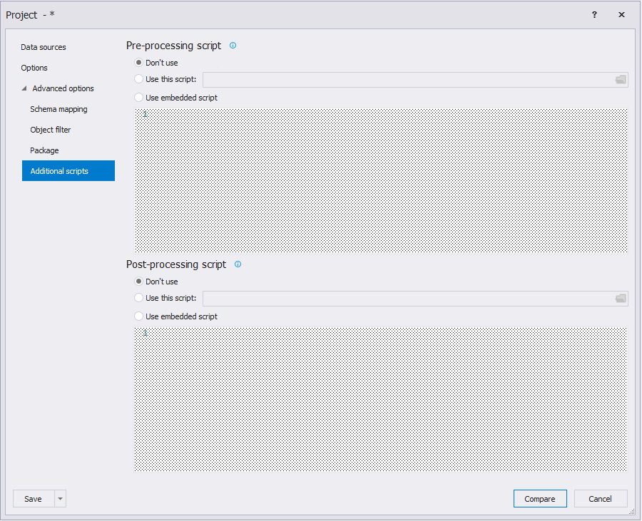 Сравнение компараторов для синхронизации схем и данных баз данных MS SQL Server - 54