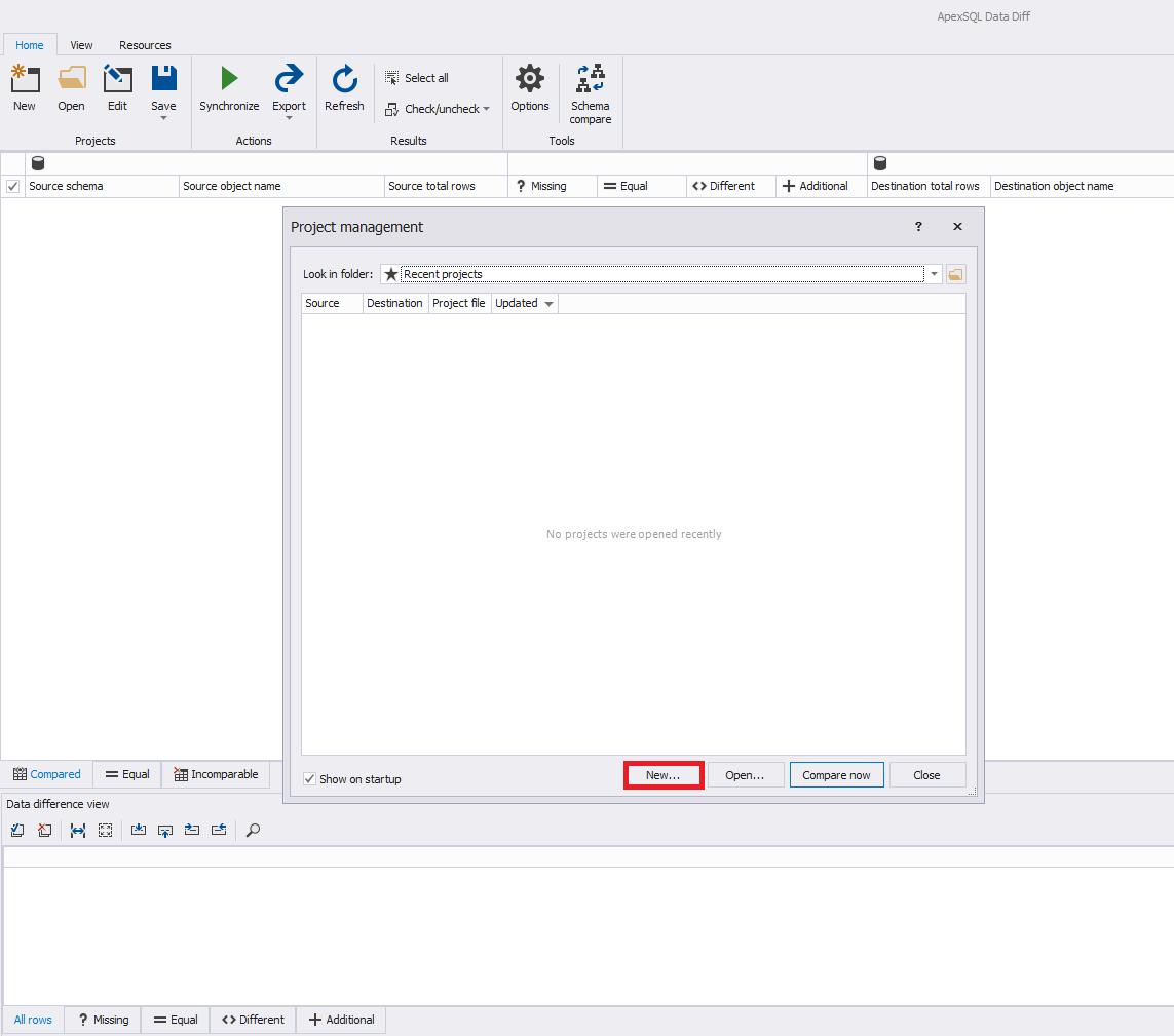 Сравнение компараторов для синхронизации схем и данных баз данных MS SQL Server - 67