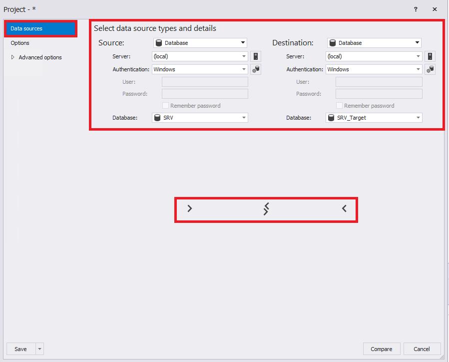 Сравнение компараторов для синхронизации схем и данных баз данных MS SQL Server - 68