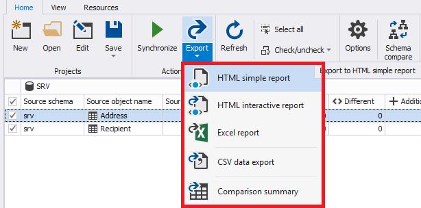 Сравнение компараторов для синхронизации схем и данных баз данных MS SQL Server - 80